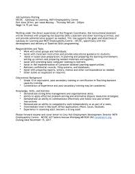 Areas Of Improvement In Resume The North End Community Renewal Corporation Necrc