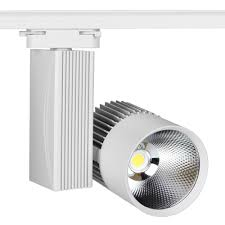 led track light 30w cob modern rail wall light ceiling commercial