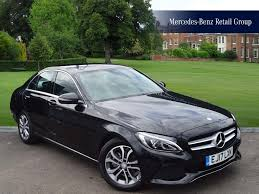 used mercedes benz c class sport manual cars for sale motors co uk