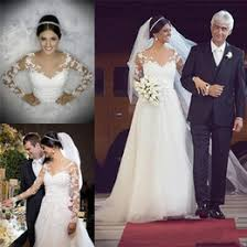 discount wedding dress designers sleeves 2017 wedding dress