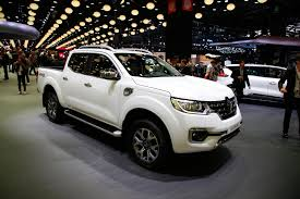 renault america 2016 renault alaskan pick up shown in paris autocar