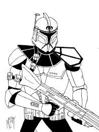 clone trooper phase 2 coloring pages cloning coloring fox