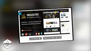 industrial theme industry wordpress theme for factory and industrial business