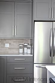 painted grey kitchen cabinet ideas the 4 best gray greige colours for cabinets vanities