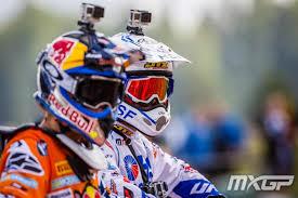motocross helmet camera race report mxgp of latvia mxgp racer x online