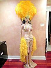 Las Vegas Showgirl Halloween Costume Brazil Carnival Costume Ebay