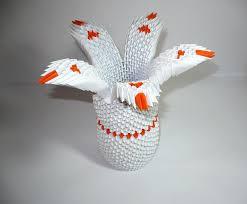 3d Origami Flower Vase Tutorial 18 Origami Lotus Flower Instructions Handmade Paper Flower