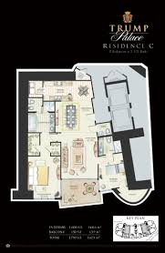 Palace Floor Plans Floor Plans Trump Palace Condos