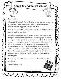best 25 parent welcome letters ideas on preschool