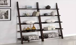 bookcases with ladder furniture ladder book case with leaning ladder bookcase