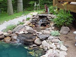 garden ponds and waterfalls youtube