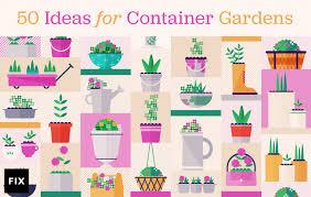 50 ideas for container gardens fix com