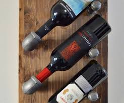clever decorate your house toger with image and wood wine rack