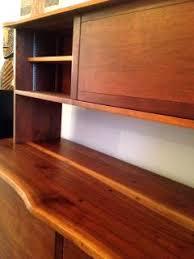 Desk With Top Shelf George Nakashima Walnut Sideboard With Top Shelf By George Nakashima