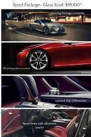 lexus north park service 2018 lexus lc 500 with sport package and glass roof option