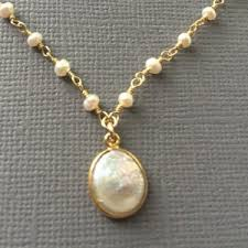 freshwater pearl necklace pendant images Pearl necklaces beadage jpg