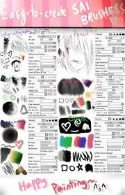 319 best sai sets images on pinterest art tutorials paint tool