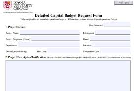 10 capital expenditure budget templates free word excel pdf