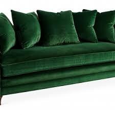 Emerald Green Velvet Sofa by Furniture Incredible Green Velvet Sofa For Home Furniture Ideas
