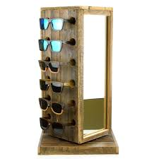 reclaimed wooden display stand 12 woodroze wooden sunglasses