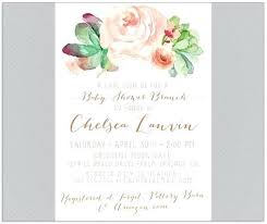 brunch invitation wording baby shower brunch invitations ryanbradley co