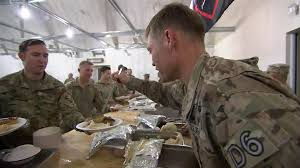 how soldiers are celebrating thanksgiving in afghanistan today