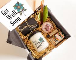 thinking of you gift baskets thinking of you gift etsy