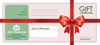 gift certificate template photoshop gift certificate template free