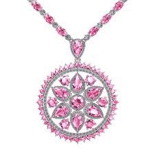 pink sapphire necklace images Touch de chic quot pink sapphire juliette co png