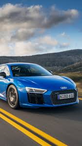 Audi R8 Blue - iphone 6 vehicles audi r8 wallpaper id 662155