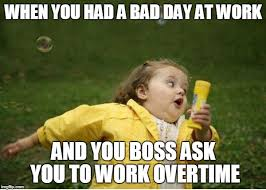 Bad Day At Work Meme - chubby bubbles girl meme imgflip