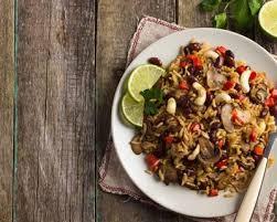 cuisiner haricots coco recette riz au curry haricots coco et chignons