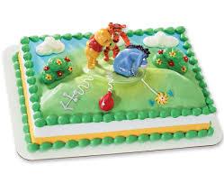 winnie the pooh cakes winnie the pooh new for eeyore decoset cake cakes