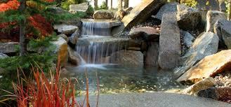 backyard waterfall design u0026 construction spokane u0026 seattle