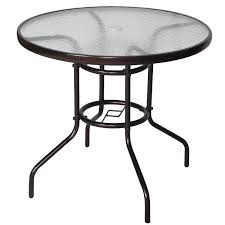 round glass outdoor table 36 round glass patio table round designs