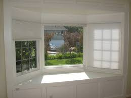 Bay Window Roller Blinds Kitchen Mesmerizing Cool Windows Blinds For Bay Windows Ideas