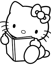 kitty coloring pages gift ideas blog