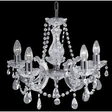Chandelier Lights Uk by Marie Therese 399 5 5 Light Chandelier In Chrome