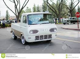 Vintage Ford Econoline Truck For Sale - ford econoline pickup classic car on display editorial photography