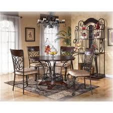 Ashley Dining Room Table And Chairs by D345 01 Ashley Furniture Alyssa Dining Room Dining Uph Side Chair