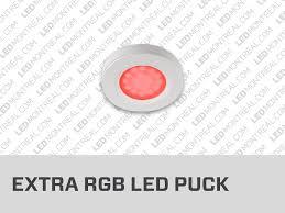 rgb led puck lights under cabinet led puck light