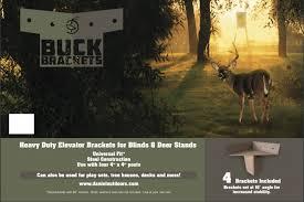 Deer Blind Elevator Brackets Buck Brackets Deer Stand Elevators Louisiana Sportsman