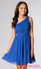 speechless one shoulder shirred two tone dress found at jcpenney