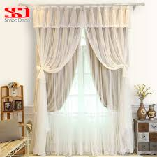 online shop korean tassels voile cloth curtains for bedroom living