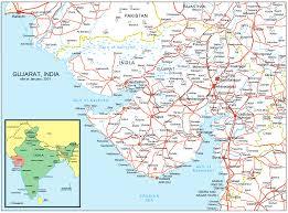 Gujarat India Map by Gujarat Road Map U2022 Mapsof Net