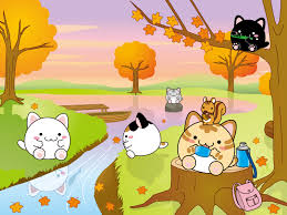cartoon thanksgiving wallpaper free autumn wallpapers modes blog