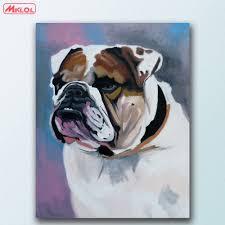 Georgia Bulldog Home Decor by Bulldog Painting Promotion Shop For Promotional Bulldog Painting