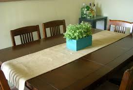 Dining Room Table Runners Burlap Table Runner Dooley Noted Blog