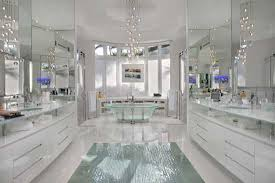 master bathroom white florida white house decked out with fully integrated system ce pro