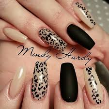 nail designe 50 stylish leopard and cheetah nail designs for creative juice